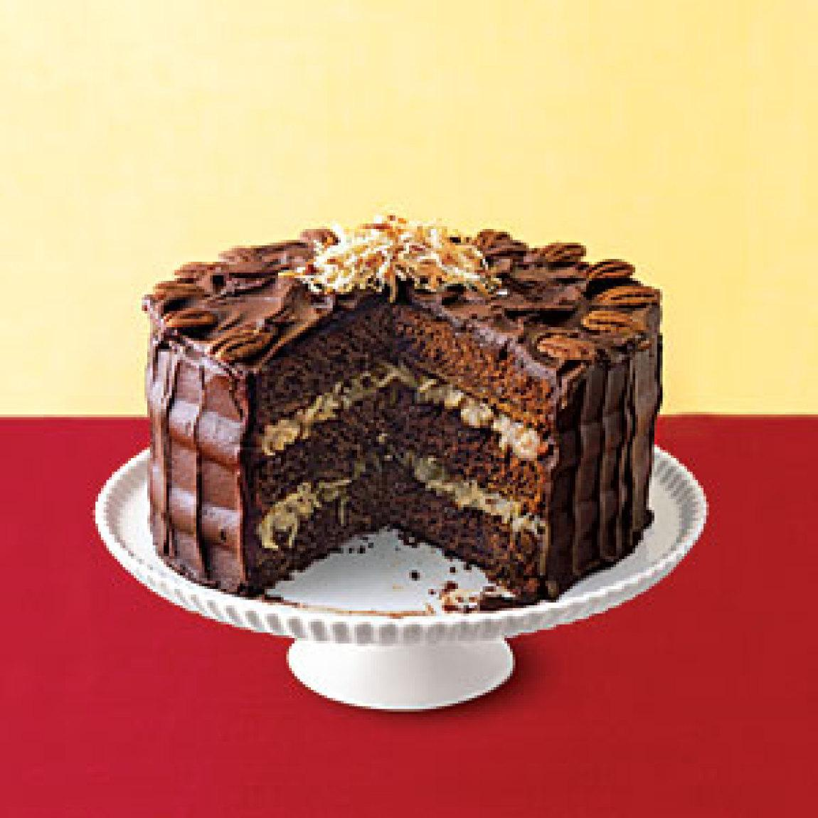 German Chocolate Cake Recipe Dishmaps