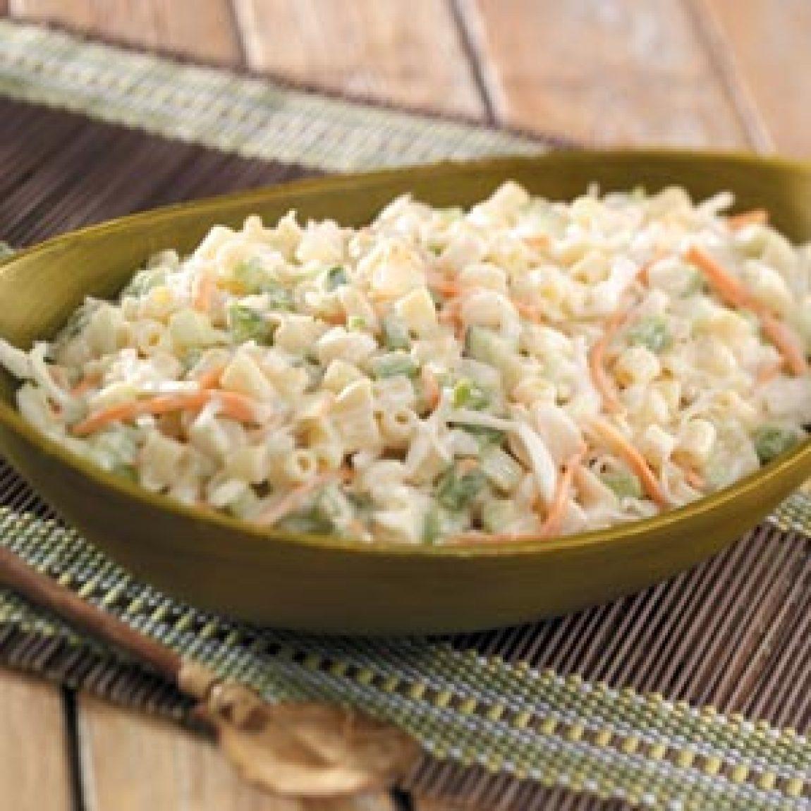Macaroni Ring Salad Recipe