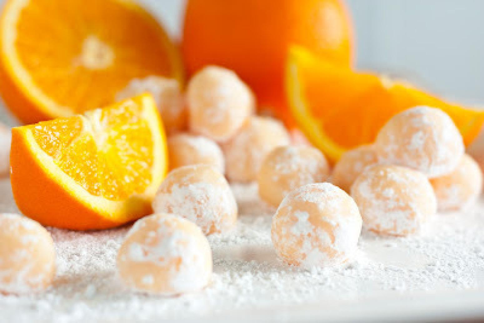 Orange Dreamcicle truffles! Recipe