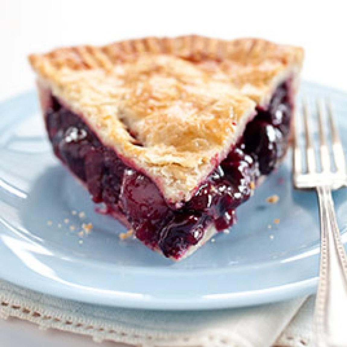 Sweet Cherry Pie Recipe | Just A Pinch Recipes