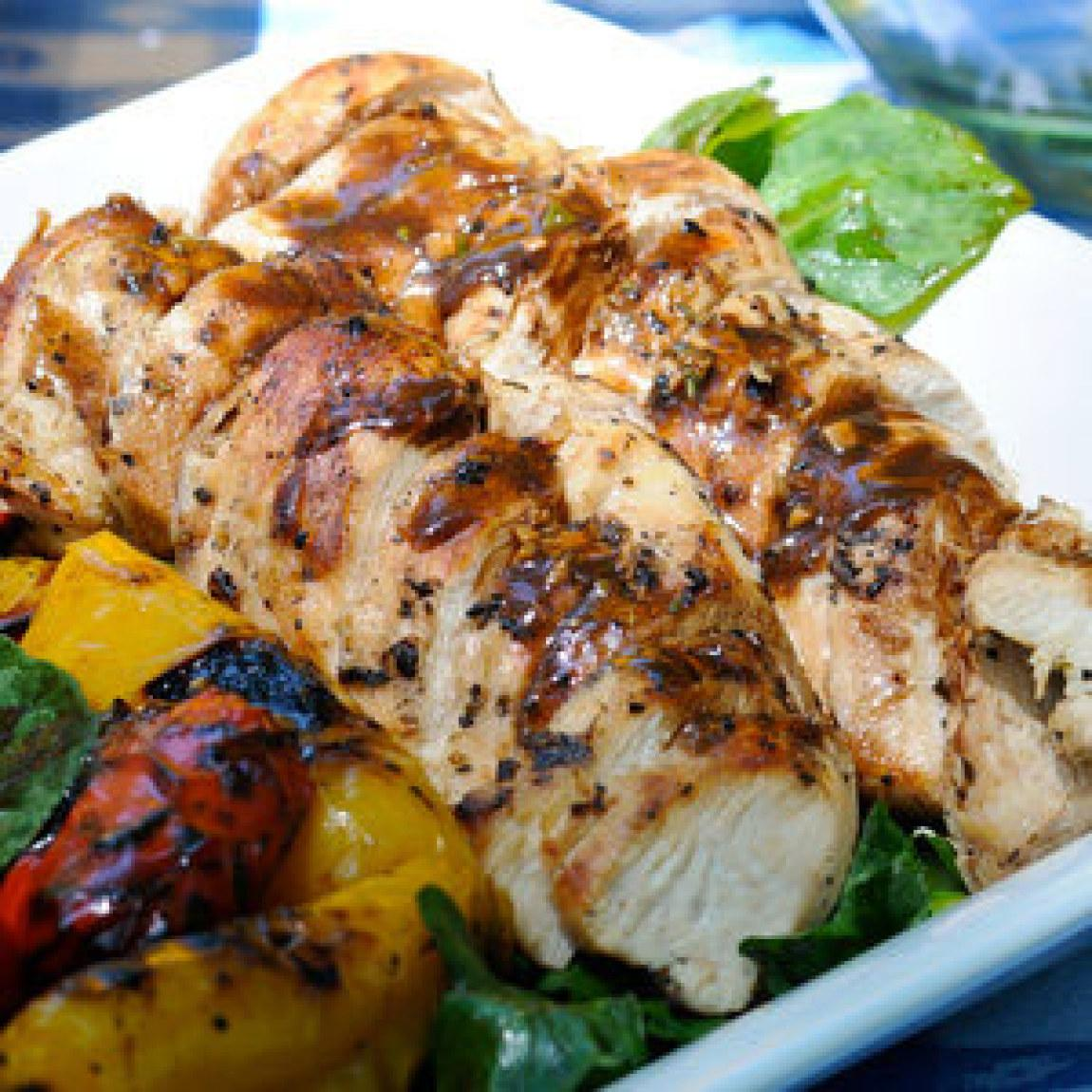 Citrus Grilled Chicken Breasts Recipe | Just A Pinch Recipes