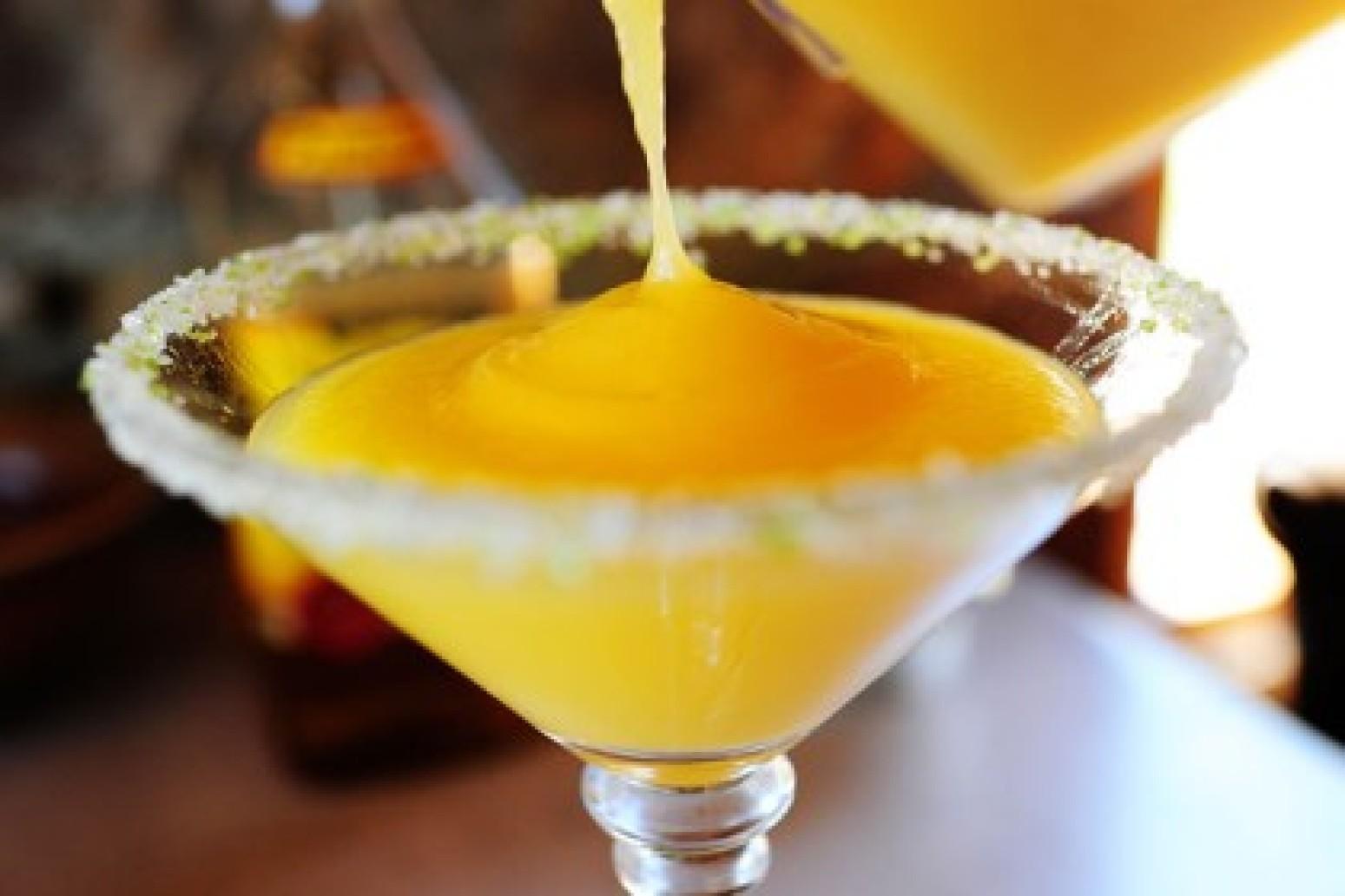 Mango Margaritas Recipe | Just A Pinch Recipes