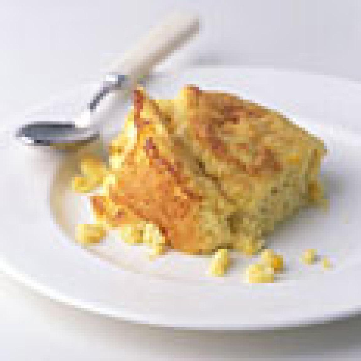Fresh Corn Spoon Bread Recipe | Just A Pinch Recipes