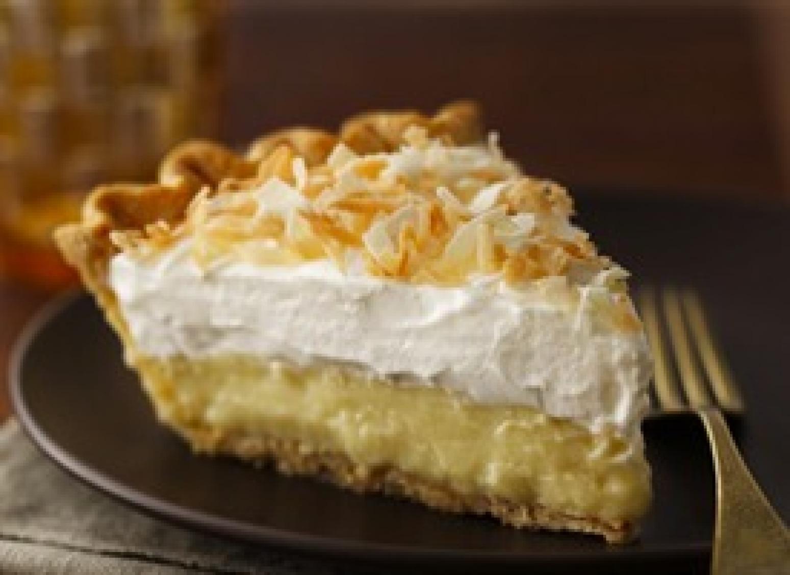 Triple Threat Coconut Cream Pie Recipe Just A Pinch Recipes