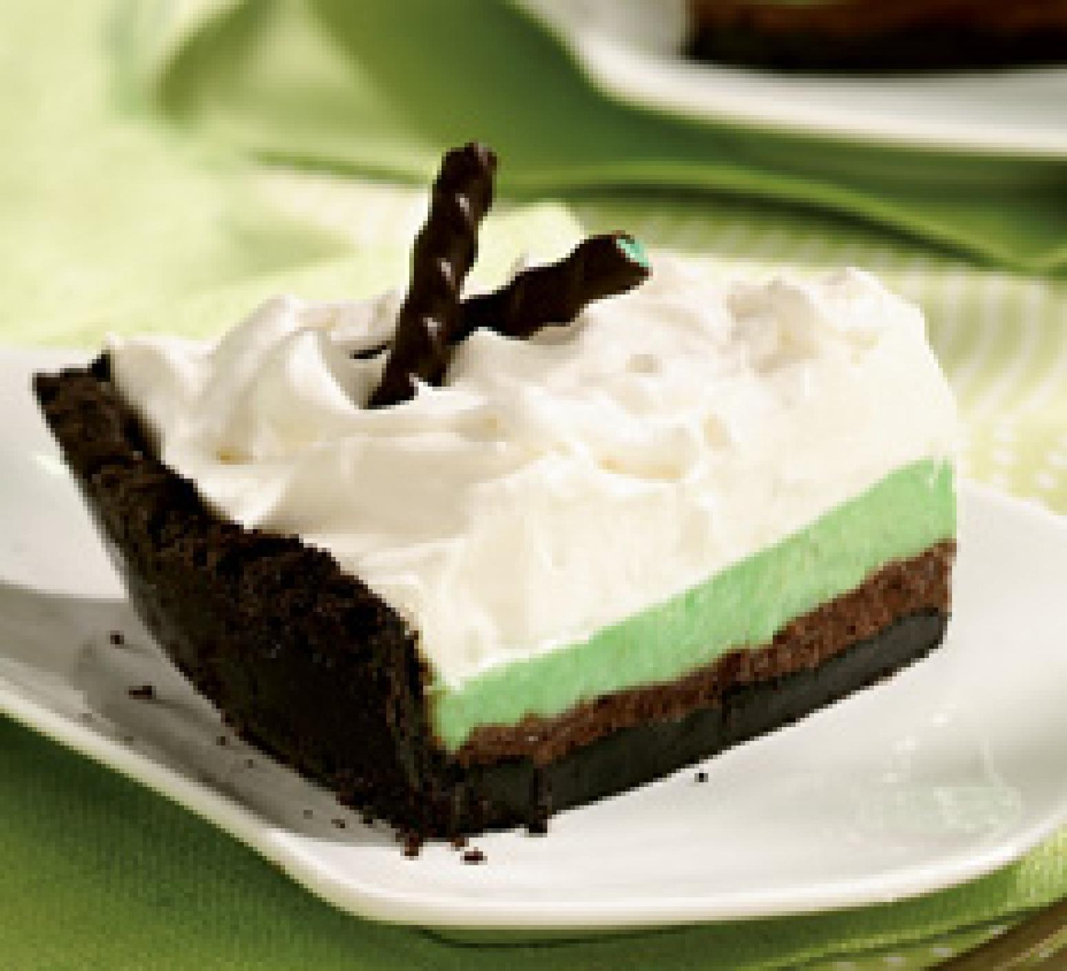 Grasshopper Pie Recipe | Just A Pinch Recipes