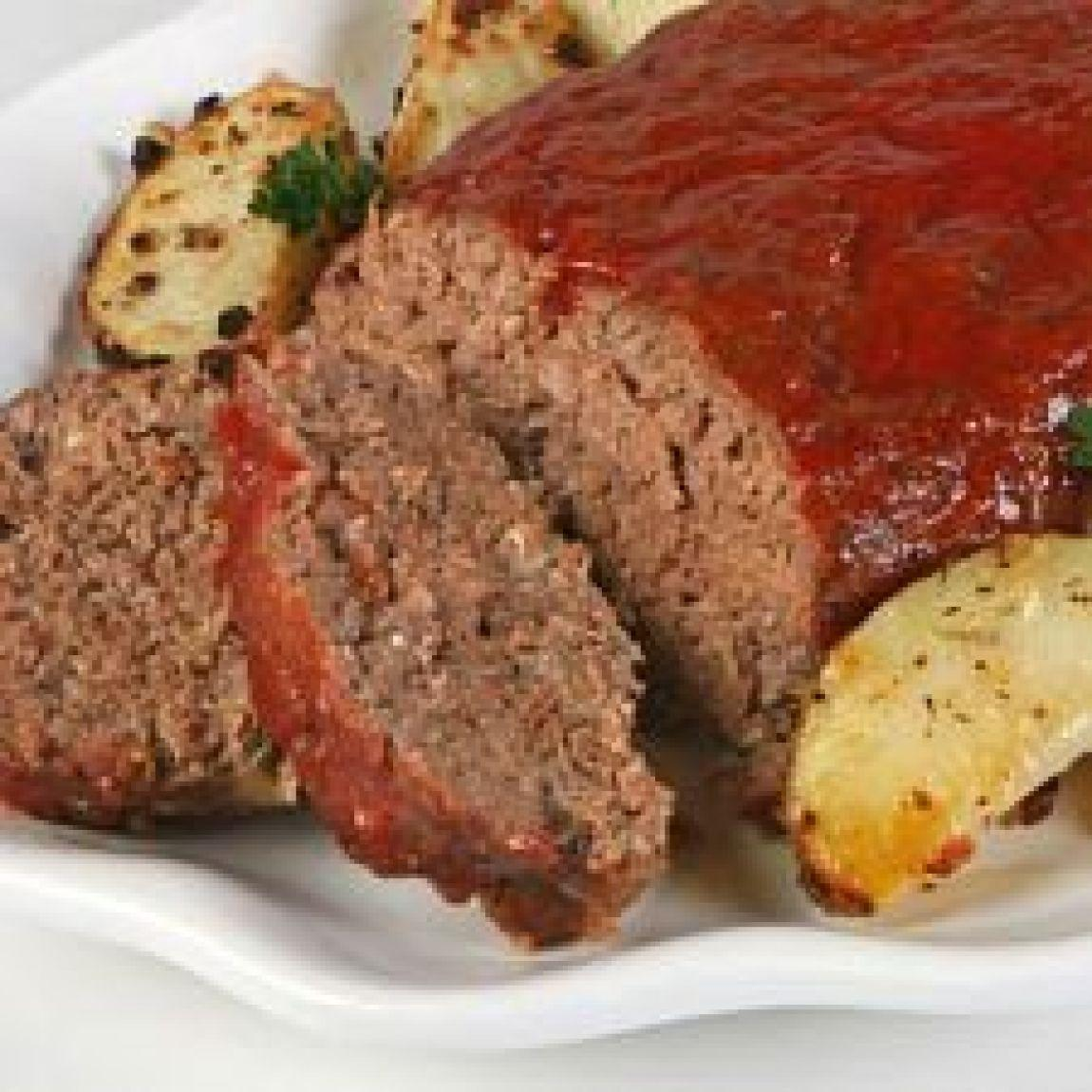 Classic Meatloaf Recipe | Just A Pinch Recipes