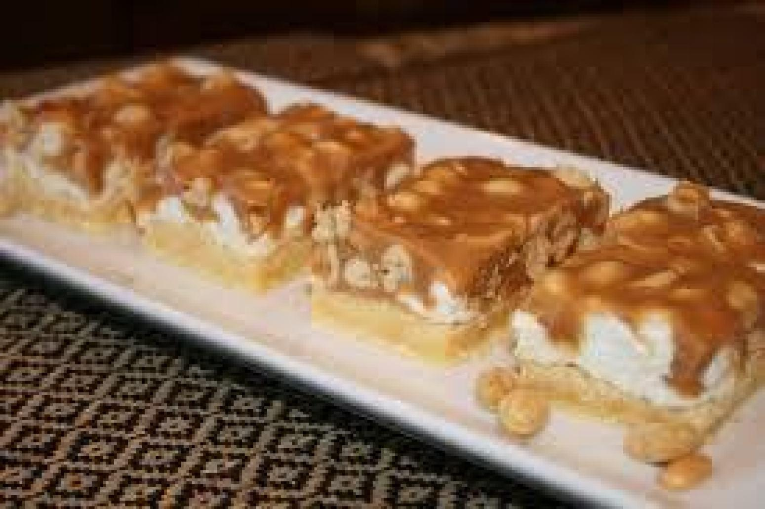 Salted Nut Bars Recipe Just A Pinch Recipes