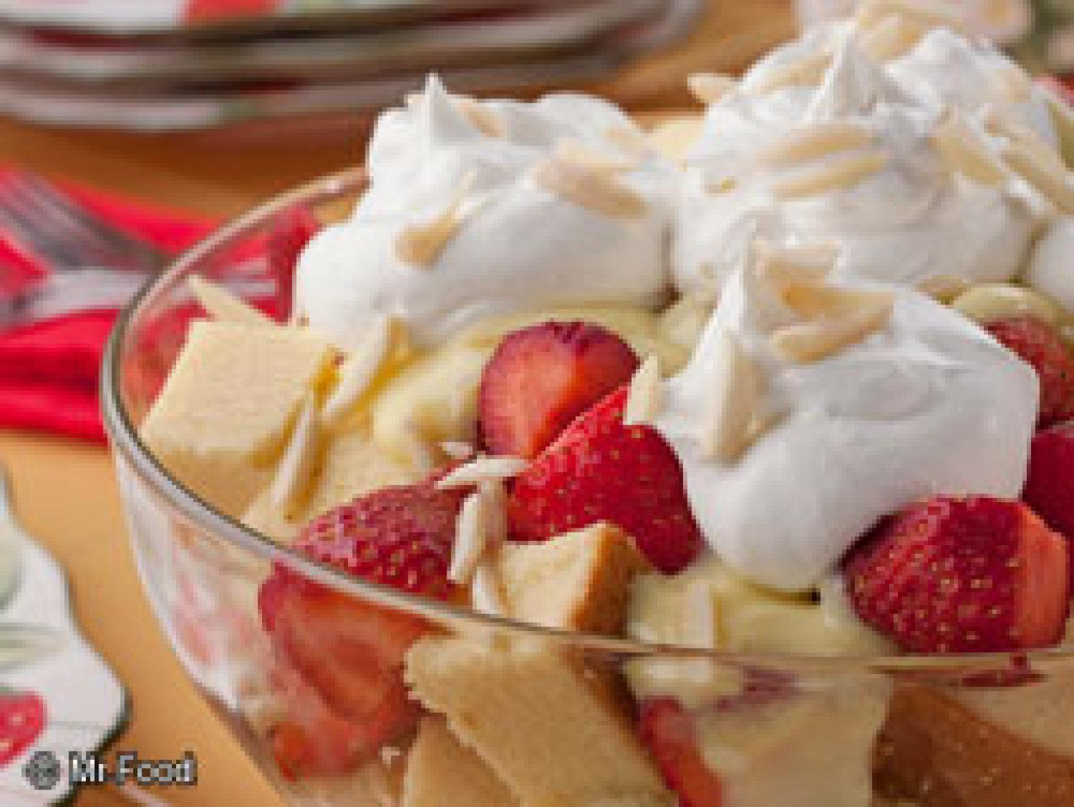 Strawberry Trifle Recipe | Just A Pinch Recipes