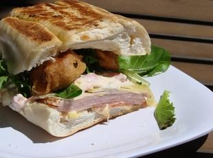 Cubano Sandwich with Fried Pickles and Spicy Aioli Recipe