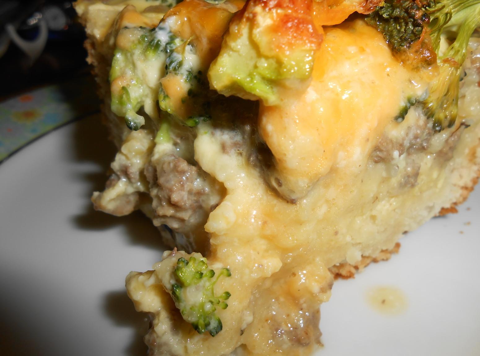 BROCCOLI BEEF SQUARES Recipe