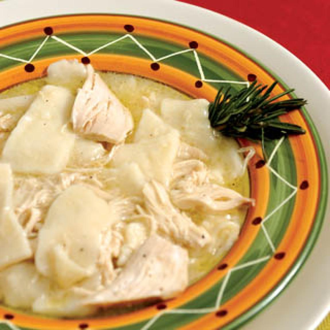 Old Fashioned Southern Style Chicken And Dumplings Recipe