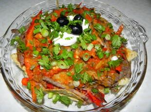 Fajita Nachos Grande Recipe