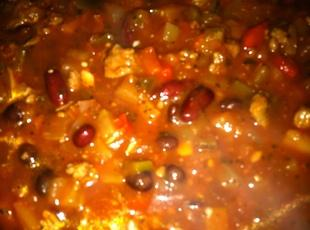 Grilled Cowboy Calico Chili ! Recipe