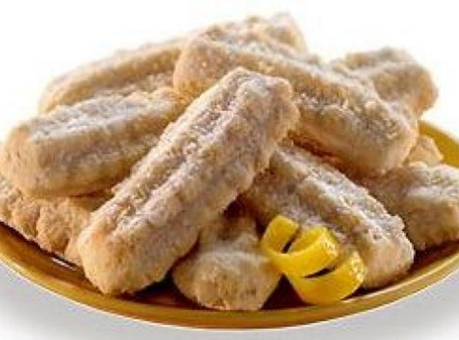 Southern Lemon Straws Recipe