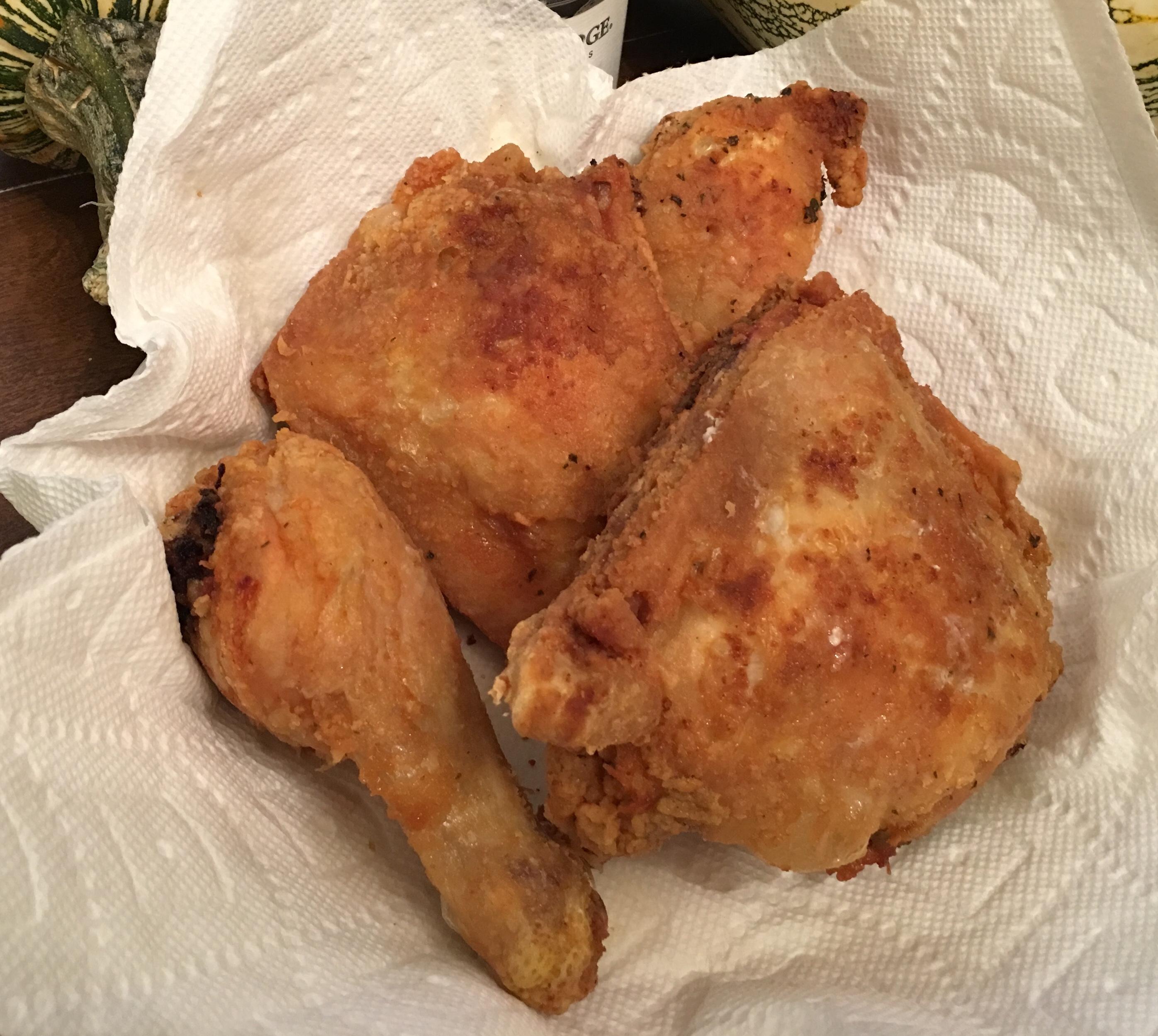 Crispy & Juicy Fried Chicken Recipe