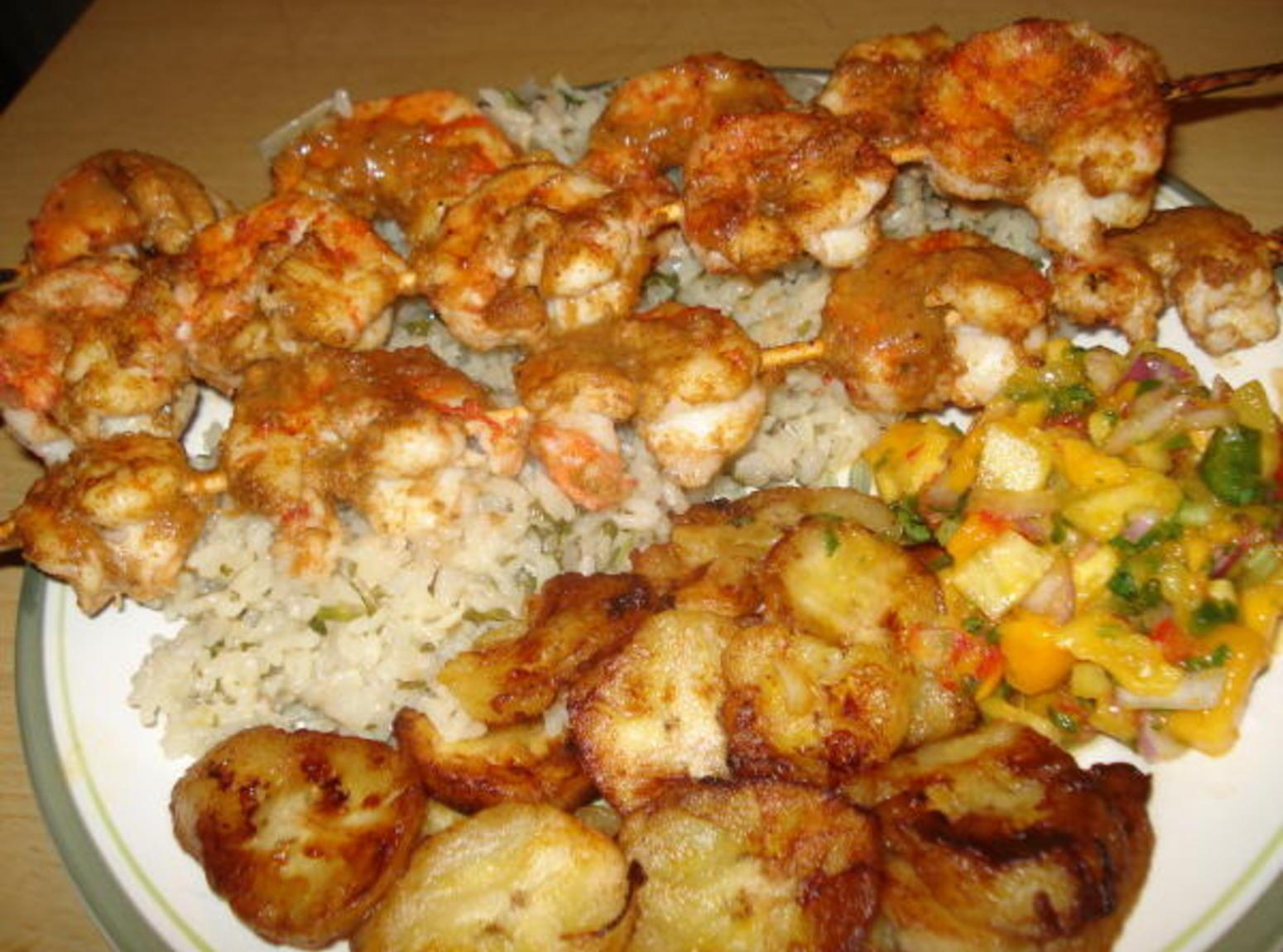 Grilled Chipotle Shrimp (Camarones Asados al Pincho) Recipe