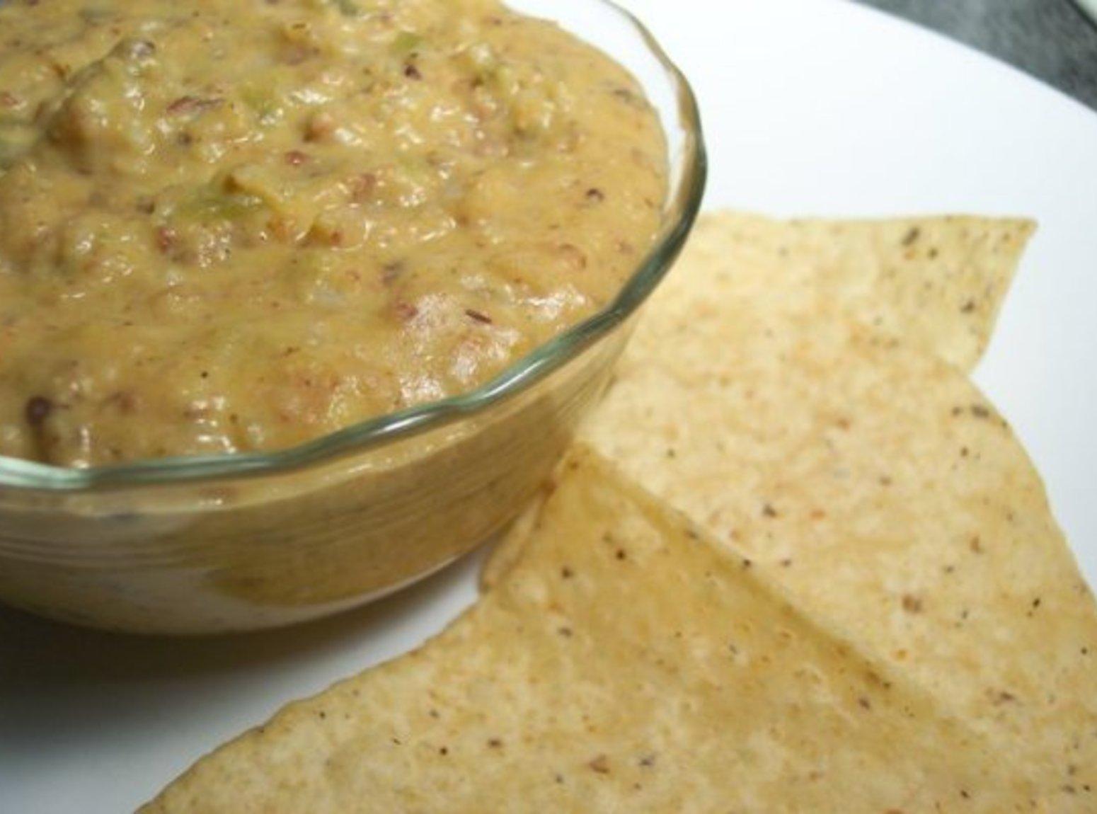 Cheesy Black-Eyed Pea Dip Recipe