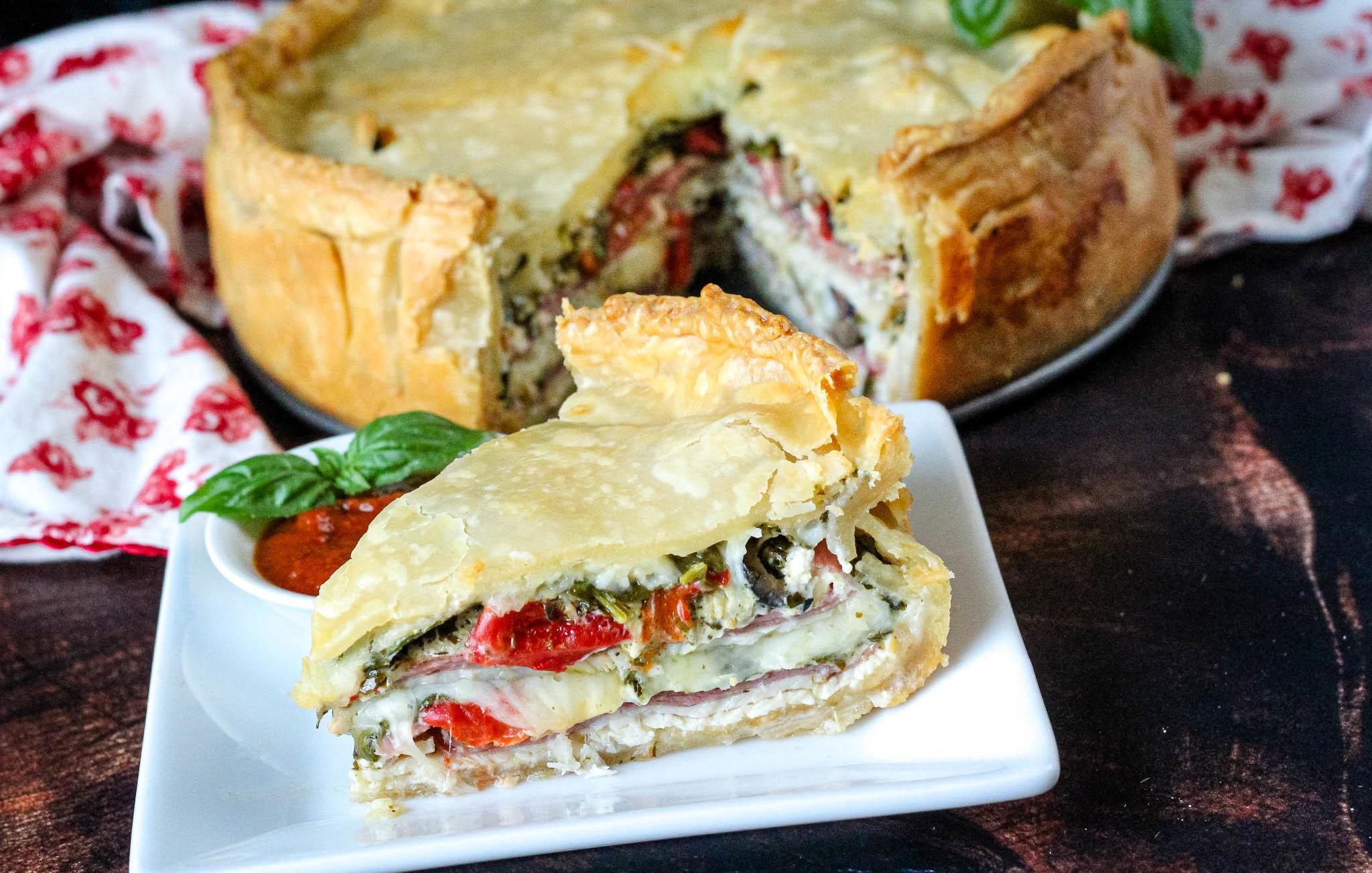 italian torta sandwiches recipe just a pinch recipes
