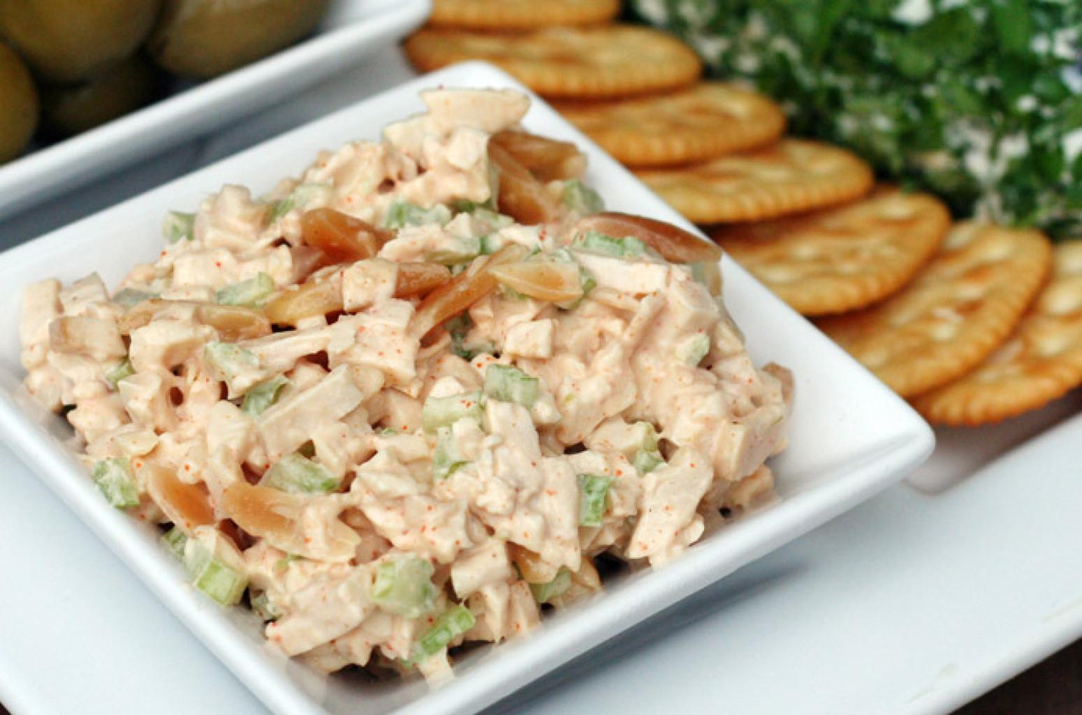 chicken almond canape spread recipe just a pinch recipes