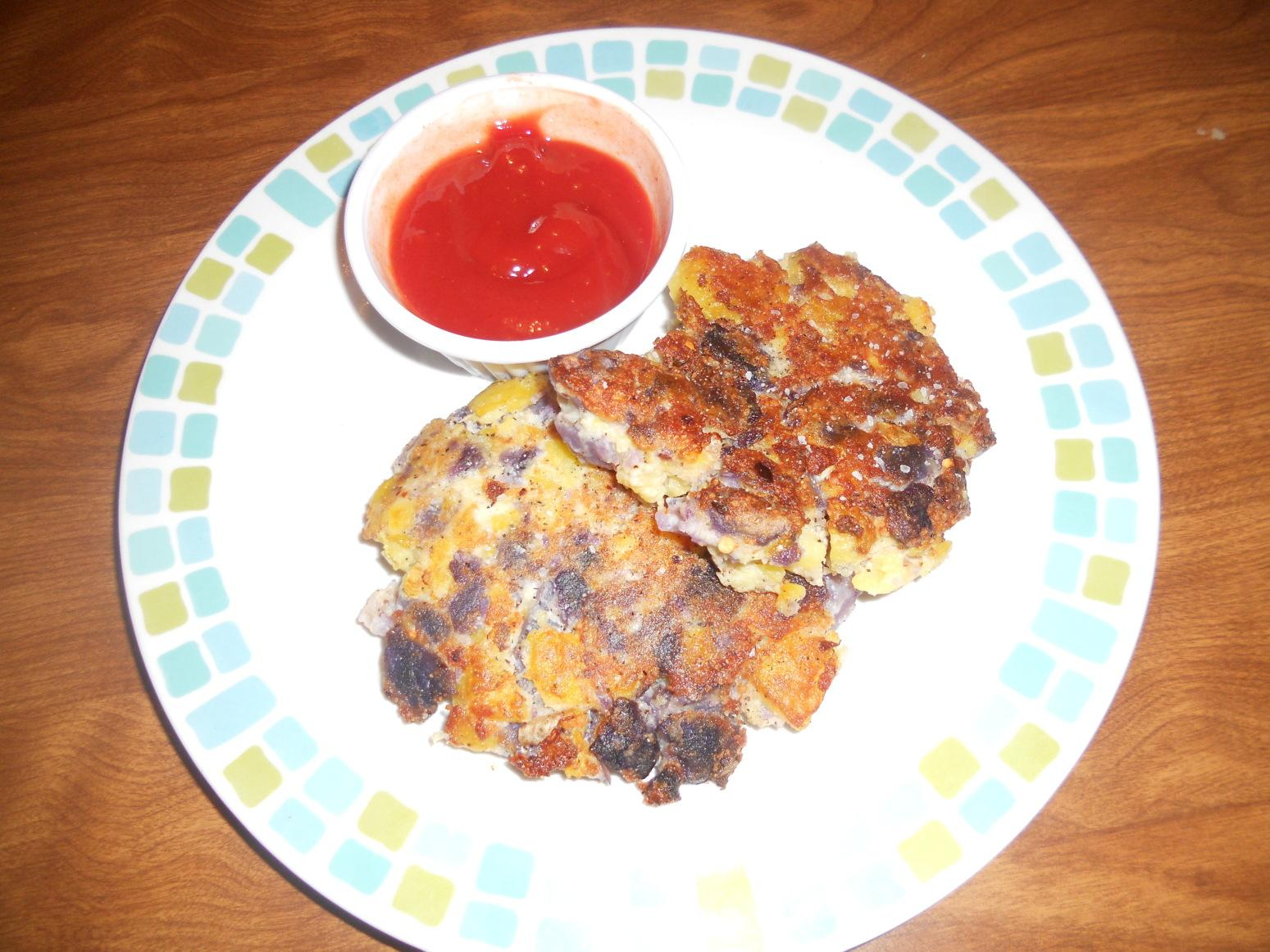 Roasted Potato Pancakes Recipe