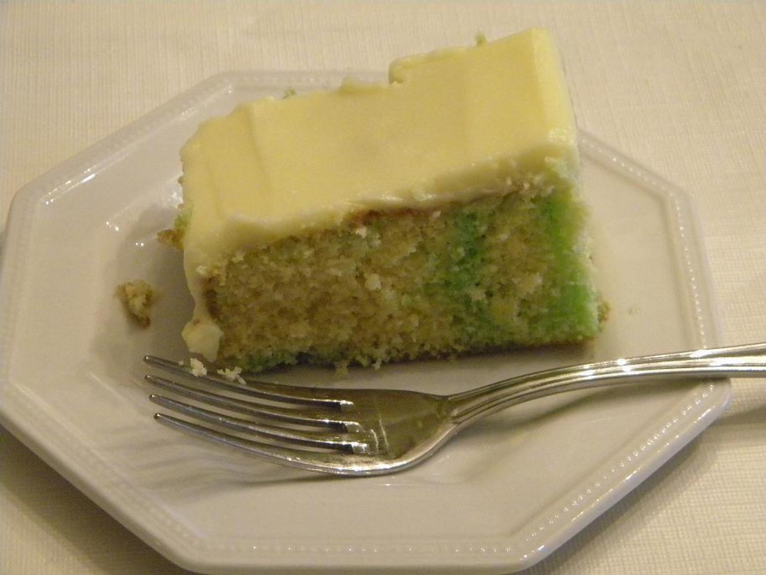 Lemon Lime Refrigerator Cake Recipe