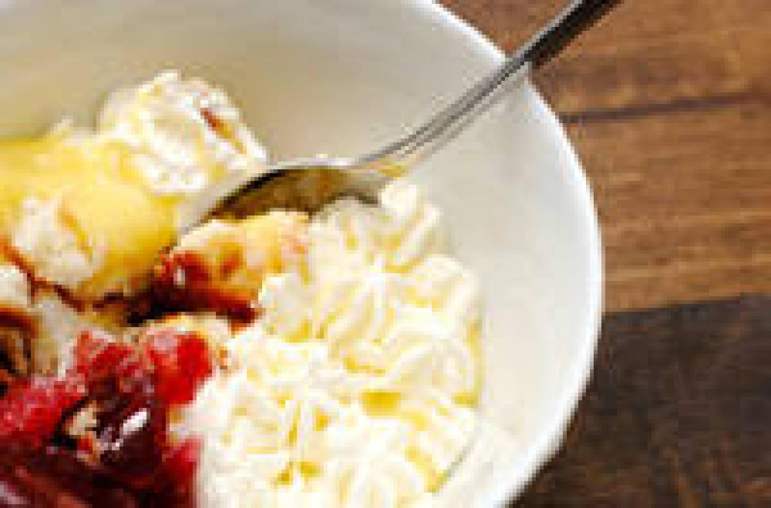 Quick sherry trifle recipe just a pinch recipes for Quick and easy trifle dessert recipes