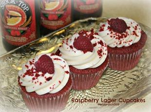 Raspberry Lager Cupcakes Recipe