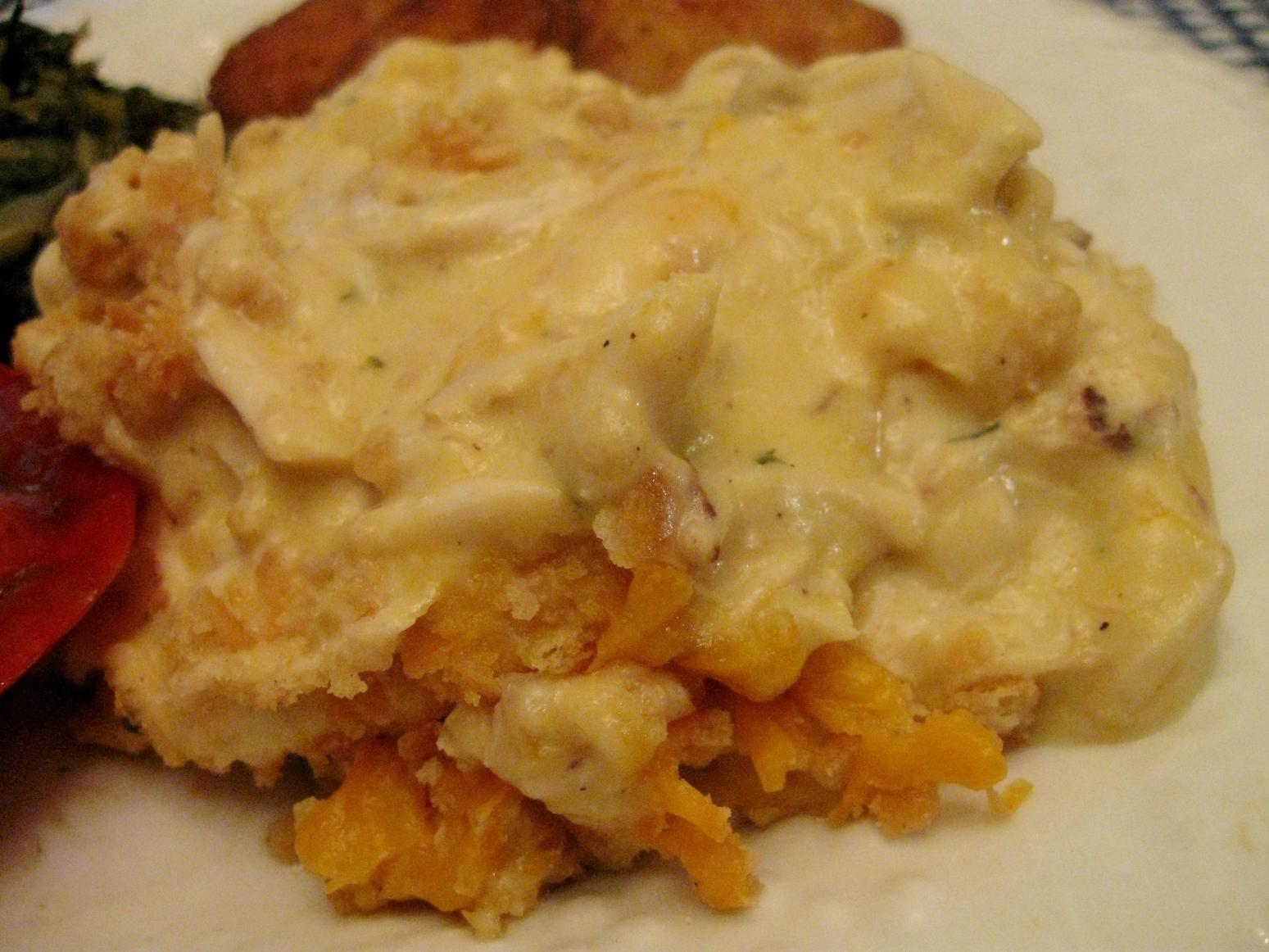 Garlicy Chicken Casserole Recipe