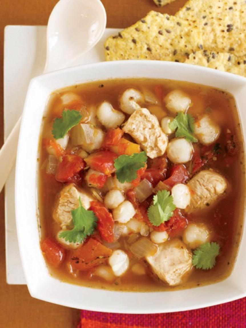 Hearty Chicken Posole Stew Recipe