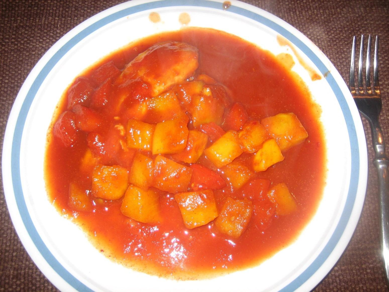 HG BBQ Mango Tilapia (or Chicken) Recipe