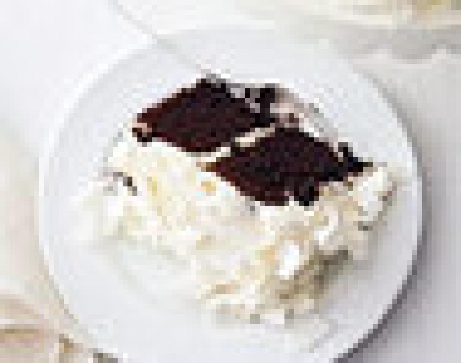 CHOCOLATE CAKE WITH COCONUT CREAM Recipe
