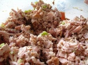 Ham Salad Tea Sandwiches Recipe