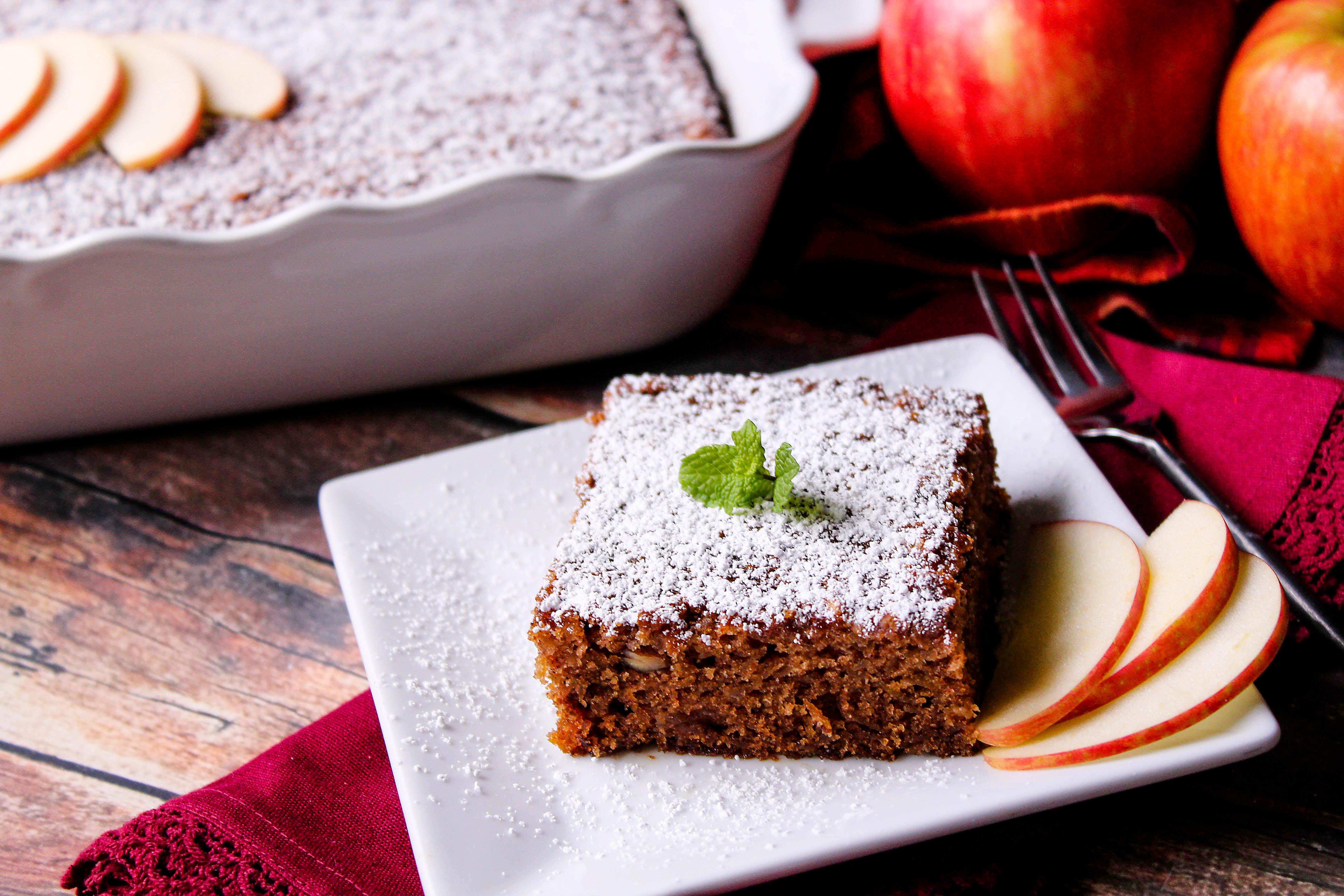 Grandmas fresh country apple cake! Recipe