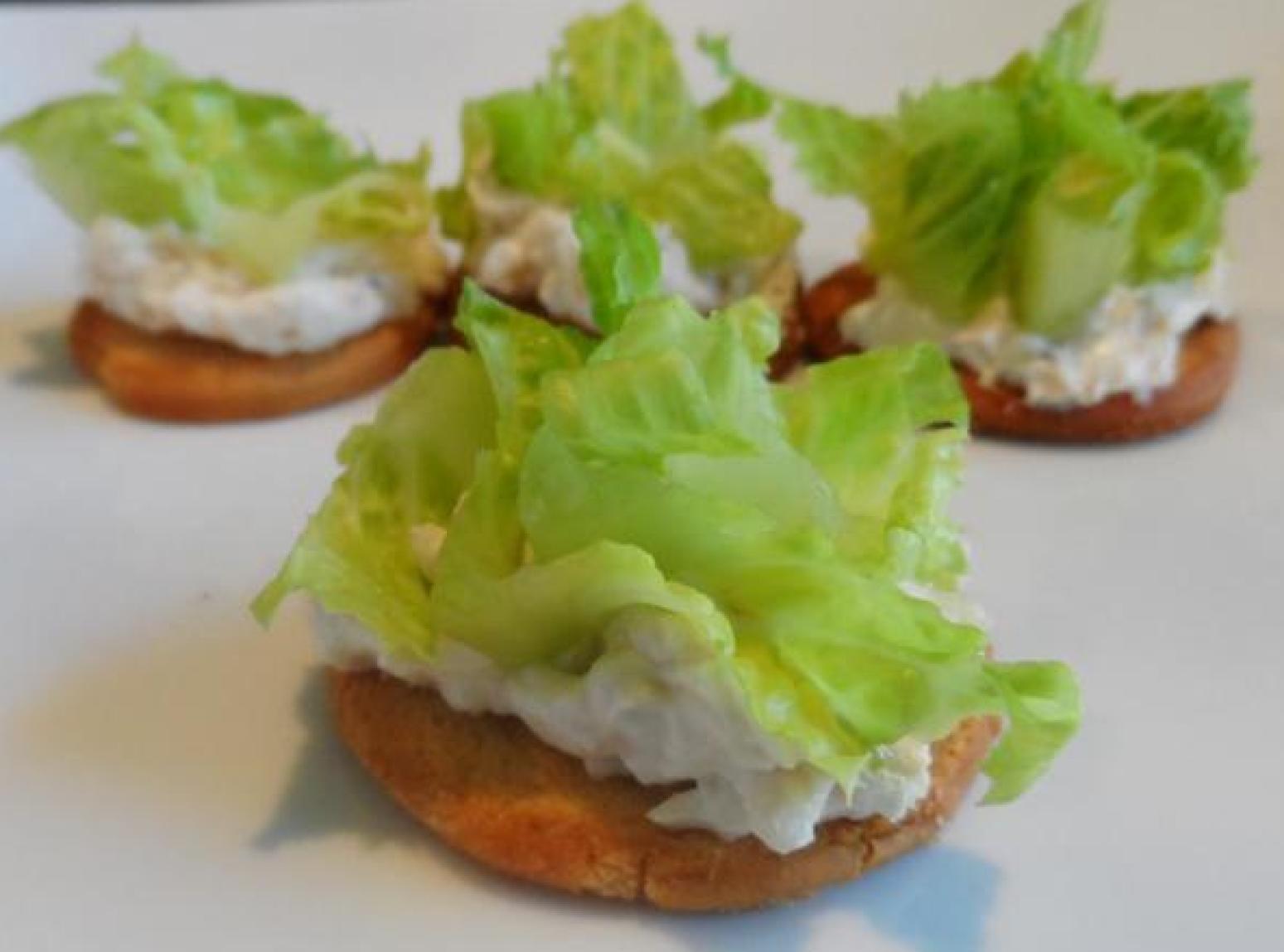Chicken Caesar Salad Bites Recipe