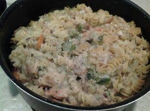 Easy Chicken Pasta Casserole Recipe