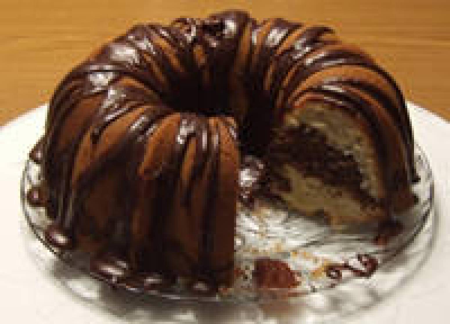 Bundt Pan Marble Cake