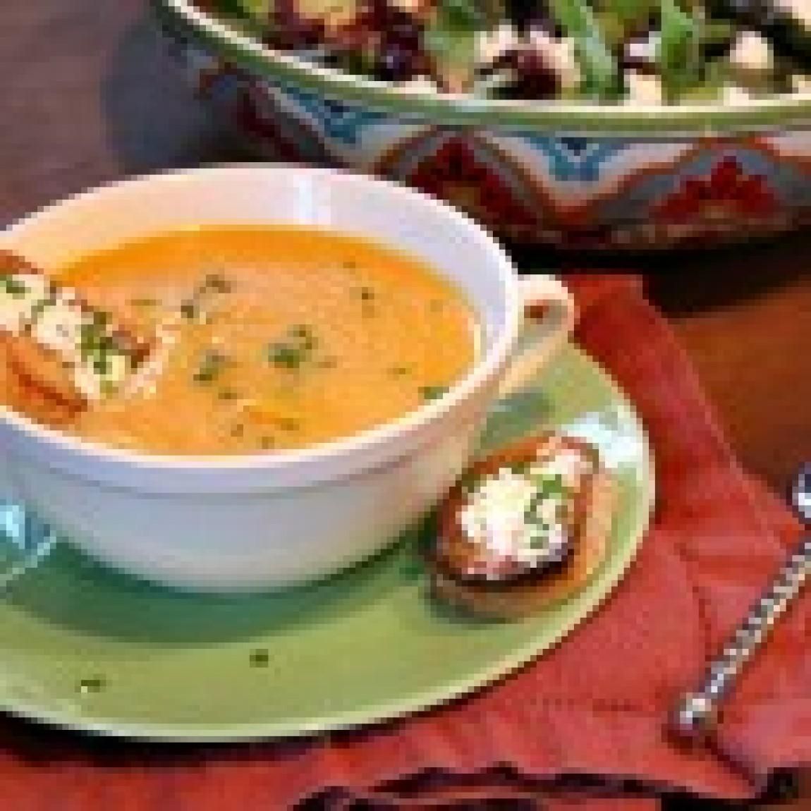 Autumn Vegetable Soup Recipe | Just A Pinch Recipes
