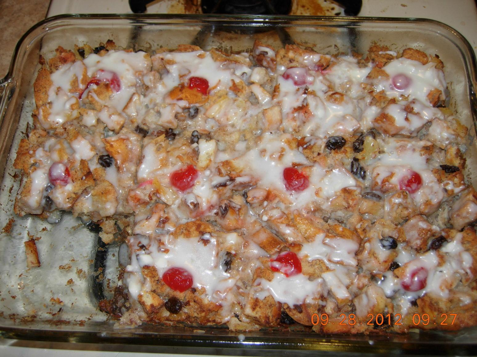 Bread Pudding Ambrosia Recipe