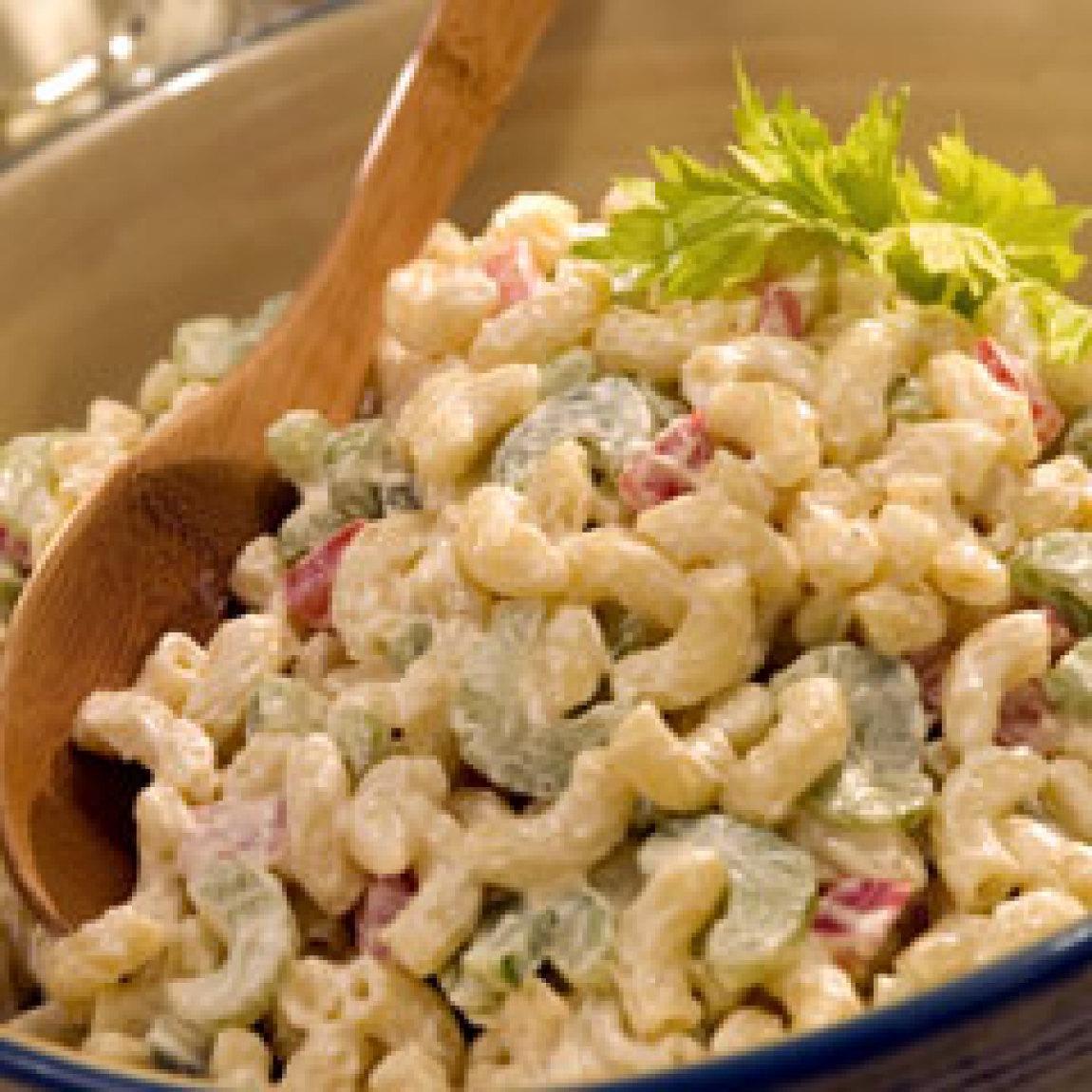 CLASSIC MACARONI SALAD Recipe 3   Just A Pinch Recipes