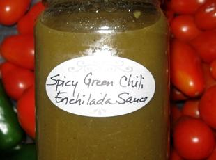Green Chile Enchilada Sauce, Millie's Recipe