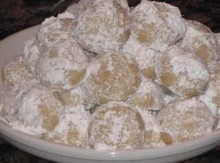 Coconut Sno Ball Cookies Recipe