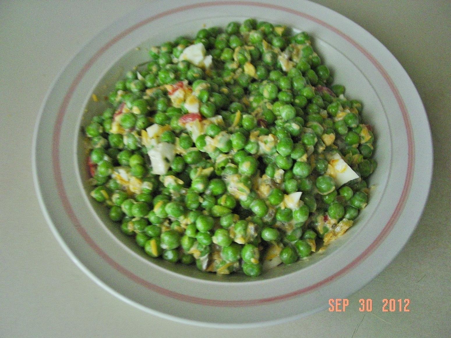 English Pea Salad Recipe