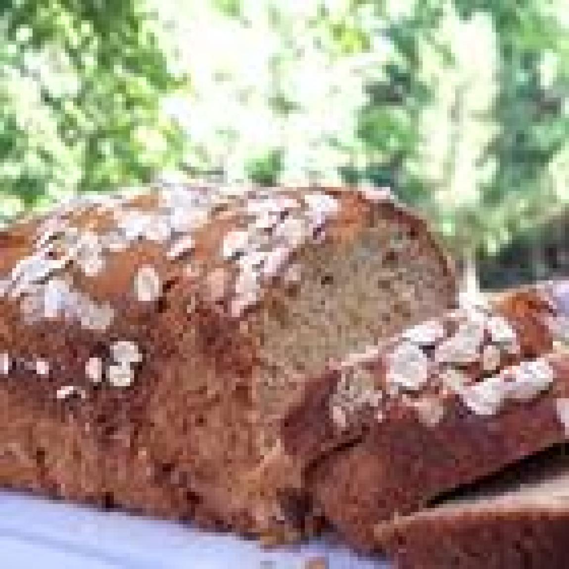 Oatmeal Banana Nut Bread Recipe   Just A Pinch Recipes