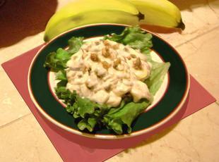 Banana Nut Salad Recipe