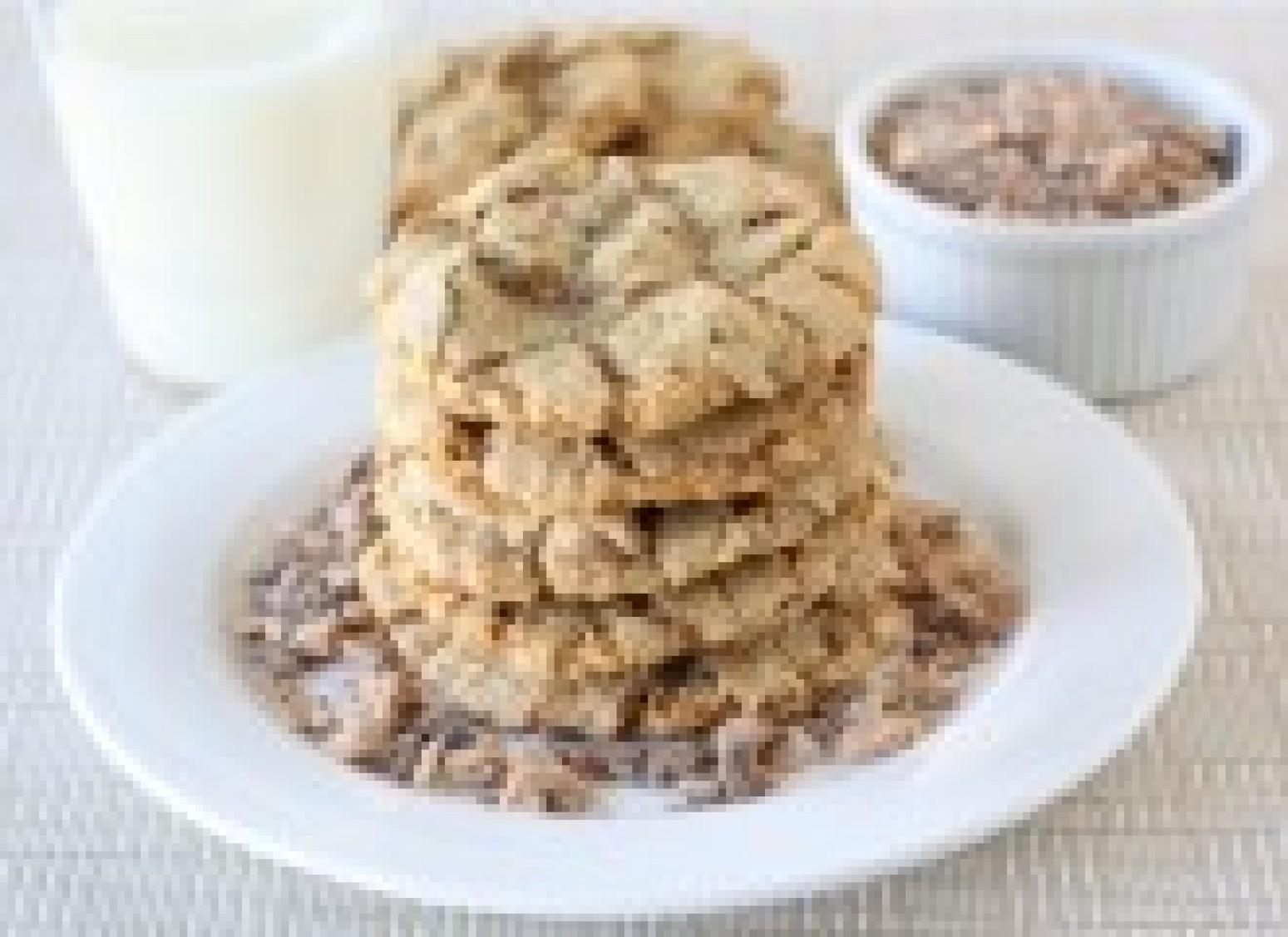 Toasted Coconut, Toffee, & Chocolate Chip Cookies Recipe ...