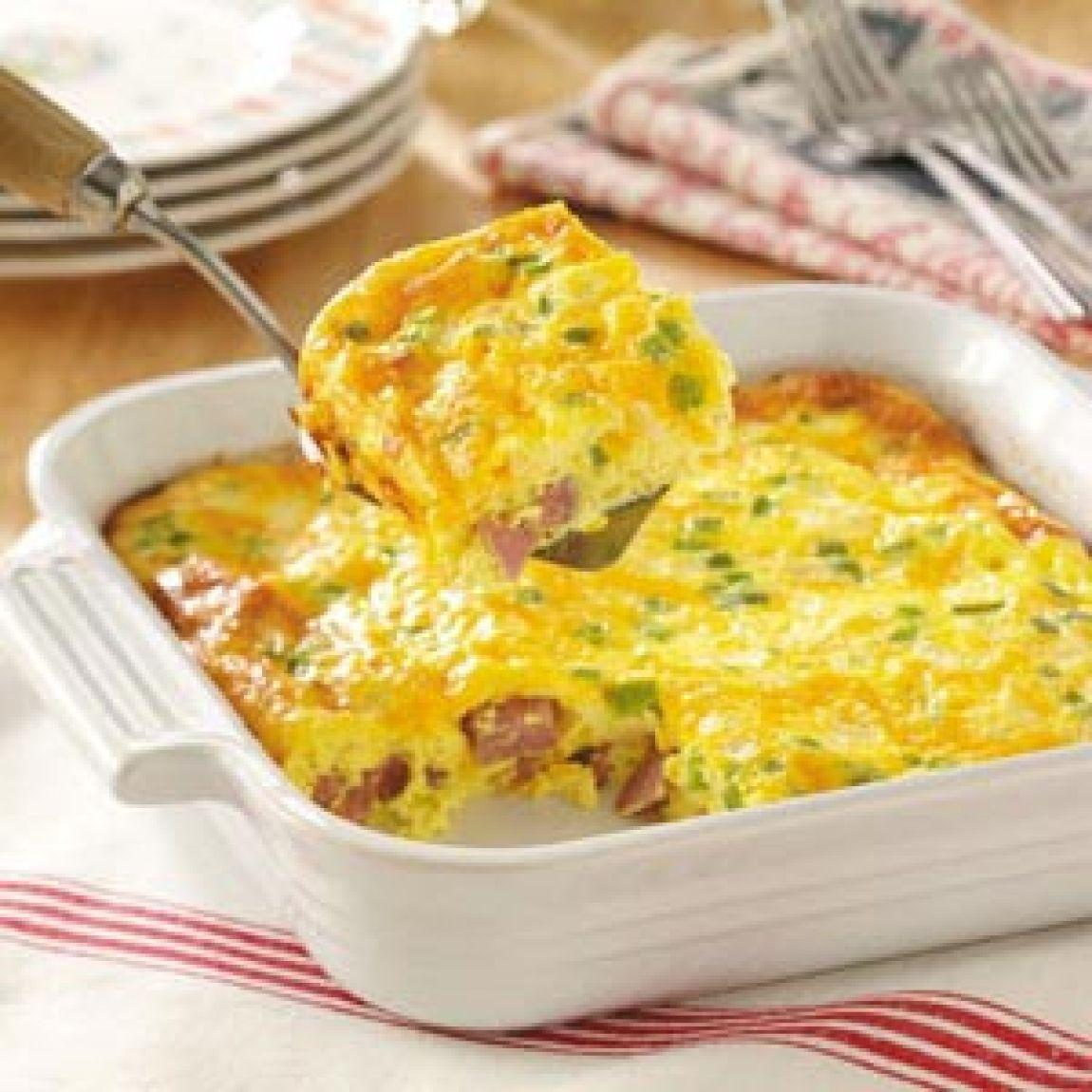 Denver Omelet Salad Recipe: Oven Denver Omelet Recipe