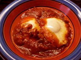 Sunday Morning Eggs Marinara Recipe