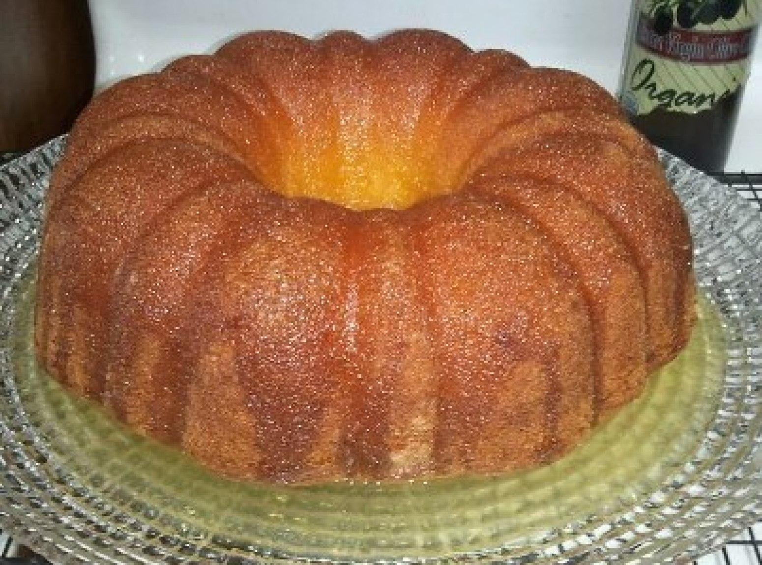 Lemon Velvet Pound Cake Recipe