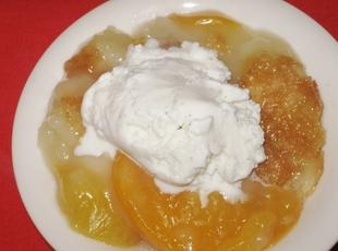Peach Cobbler, Millie's Recipe