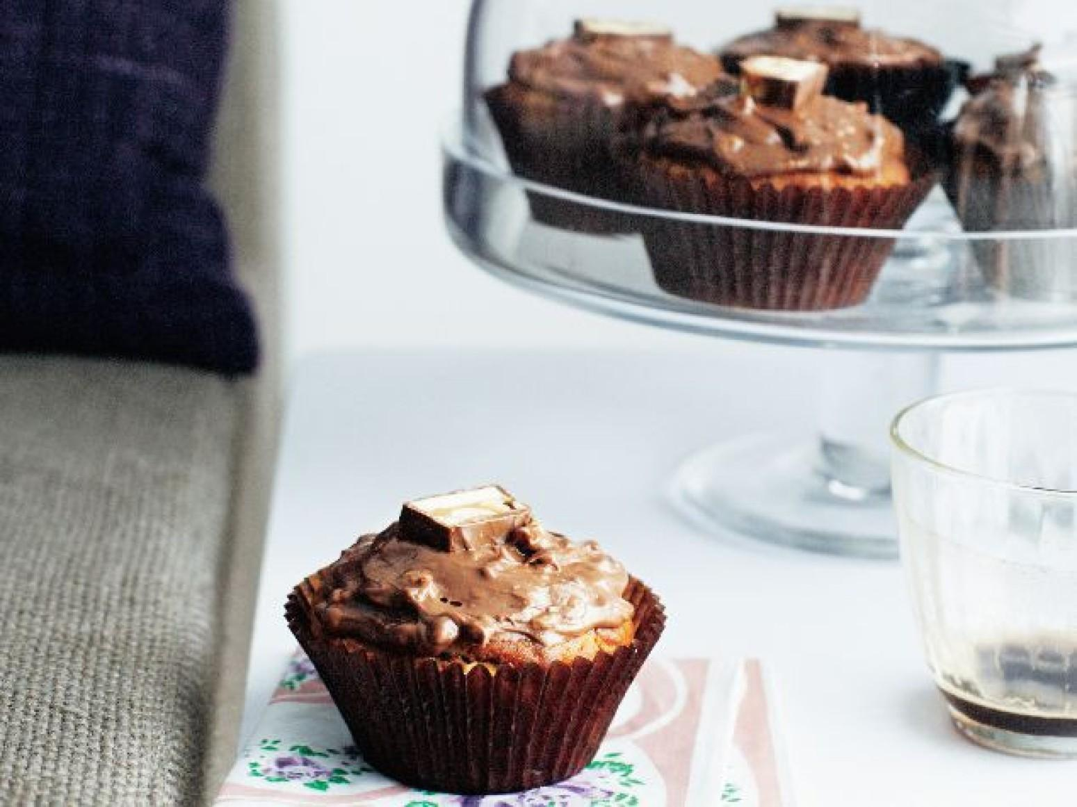 Peanut Butter Mini Cupcakes Recipe | Just A Pinch Recipes